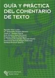 Agustín Vera Lujàn - Guía y práctica del comentario de texto.