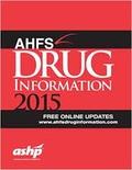 AHFS - AHFS Drug Information.