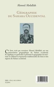 Ahmed Abdallah - Géographie du Sahara Occidental (en arabe).
