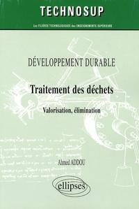 Développement durable, Traitement des déchets - Valorisation, élimination.pdf