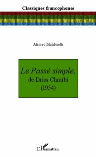 PDF CHRAIBI TÉLÉCHARGER PASS SIMPLE DRISS