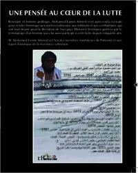 Ahmed mohamed Lamin - Pensee au coeur de la lutte - version arabe.