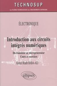 Histoiresdenlire.be Introduction aux circuits intégrés numériques - Du transistor au microprocesseur, cours et exercices Image