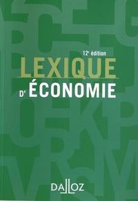 Lexique d'économie - Ahmed Silem |