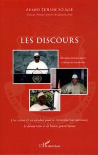 Ahmed Tidiane Souaré - Les discours - Une vision et un combat pour la réconciliation nationale, la démocratie et la bonne gouvernance.