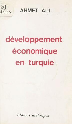 Développement économique en Turquie