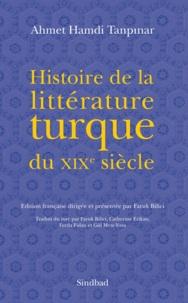 Ahmet-Hamdi Tanpinar - Histoire de la littérature turque du XIXe siècle.
