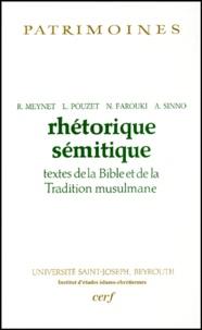 Histoiresdenlire.be Rhétorique sémitique - Textes de la Bible et de la Tradition musulmane Image