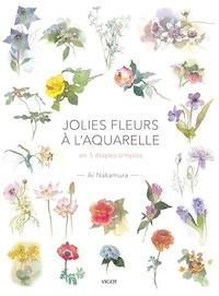 Jolies fleurs à l'aquarelle- En 5 étapes simples - Ai Nakamura | Showmesound.org