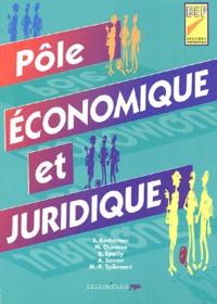 Aïcha Sarron et Bernard Epailly - Pôle économique et juridique BEP 2nde professionnelle.