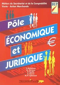 Aïcha Sarron et Bernard Epailly - Pôle économique et juridique Terminale BEP tertiaires.
