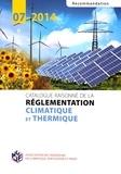 AICVF - Catalogue raisonné de la réglementation climatique et thermique - Recommandation 07-2014.