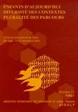 AIDELF - Enfants d'aujourd'hui, diversité des contextes, pluralité des parcours Pack en 2 volumes - Colloque international de Dakar (10-13 décembre 2002) N° 11.