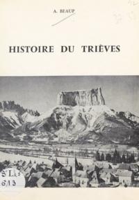 Aimé Beaup - Histoire du Trièves.