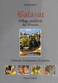 Aimé Bocquet - Balazur - Village médiéval du Vivarais.