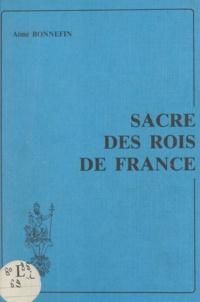 Aimé Bonnefin - Sacre des rois de France.