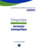Aimé Holtzscherer - Thérapeutique hormonale homéopathique.
