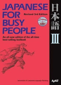 AJALT - Japanese for Busy People III. 1 CD audio
