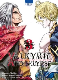 Ajichika et Shinya Umemura - Valkyrie apocalypse Tome 3 : .