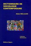 Akbar Molajani - Dictionnaire de sociologie contemporaine.