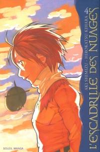 Aki Shimizu et Hirokatsu Kihara - L'escadrille des nuages Tome 4 : .