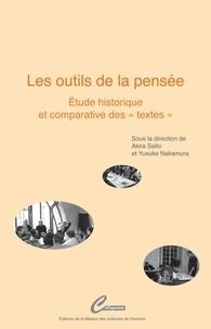 """Akira Saito et Yusuke Nakamura - Les outils de la pensée - Etudes historique et comparative des """"textes""""."""