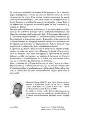 """La dignité humaine. La réinsertion socio-juridique des """"démunis"""" au Togo"""