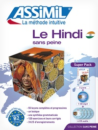 Akshay Bakaya et Annie Montaut - Le Hindi sans peine - Avec 4 CD audio. 1 CD audio MP3
