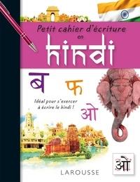 Akshay Bakaya - Petit cahier d'écriture en hindi.