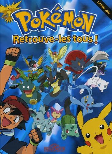 Pokemon Retrouve Les Tous Livre Jeu Album
