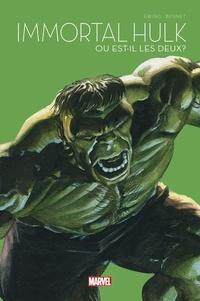 Al Ewing et Joe Bennett - Immortal Hulk Tome 1 : Ou est-il les deux ? - Le Printemps des comics 2021.