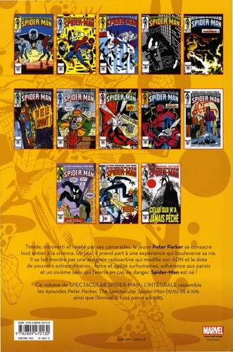 Spectacular Spider-Man  L'intégrale 1985