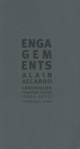 Alain Accardo - Engagements - Chroniques & autres textes (2000-2010).