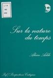 Alain Adde - Sur la nature du temps.