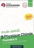 Alain Akhebat - Physique Chimie 1re S - Cours, méthode, exercices, corrigés.