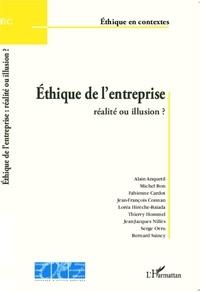 Alain Anquetil et Michel Bon - Ethique de l'entreprise - Réalité ou illusion ?.