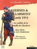 Alain Arcq et Achille Van Yperzeele - Leernes & Collarmont, 22 août 1914.