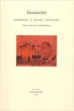 Alain Babadzan et  Collectif - Insularités - Hommage à Henri Lavondès.
