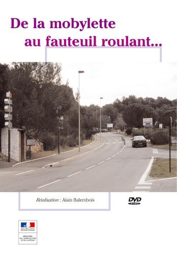 Alain Balembois - Mobylette au fauteuil roulant.
