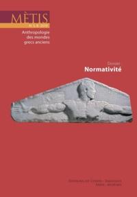 Alain Ballabriga - Mètis N° 8/2010 : Dossier : Normativité.