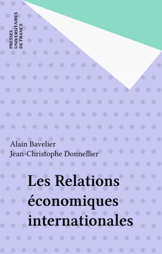 Les relations économiques internationales