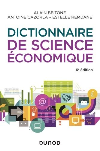 Dictionnaire de science économique - Format ePub - 9782100799565 - 16,99 €