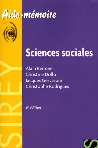 Alain Beitone et Christine Dollo - Sciences sociales.