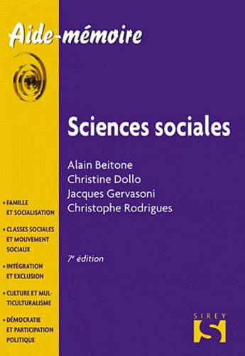 Alain Beitone et Christine Dollo - Sciences sociales.