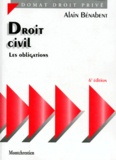Alain Bénabent - Droit civil - Les obligations.