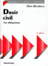 Alain Bénabent - Droit civil - Les obligations.