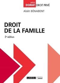 Alain Bénabent - Droit de la famille.