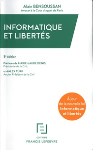 Alain Bensoussan - Informatique et libertés.
