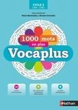 Alain Bentolila et Bruno Germain - 1000 mots en plus avec Vocaplus cycle 3 CM1-CM2. 1 Cédérom