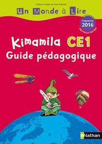 Alain Bentolila et Nadine Robert - Français CE1 Kimamila Un monde à lire série rouge - Guide pédagogique.